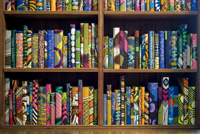 Yinka Shonibare MBE, The British Library. Courtesy the artist and Stephen Friedman Gallery, London, Co-commissioned by HOUSE 2014 and Brighton Festival, Photographer  Jonathan Bassett.