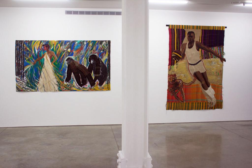 Installation view 1 EMMA AMOS True Colors - Ryan Lee Gallery Photo by Victoria L. Valentine