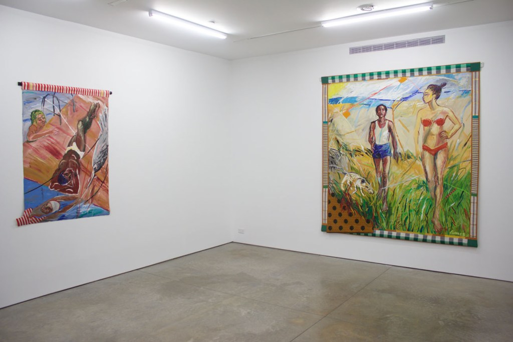 Installation view 2 EMMA AMOS True Colors - Ryan Lee Gallery Photo by Victoria L. Valentine