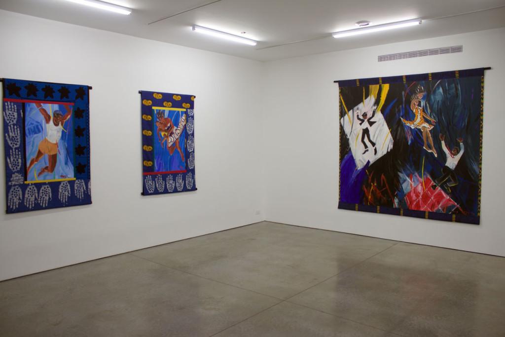 Installation view 3 EMMA AMOS True Colors - Ryan Lee Gallery Photo by Victoria L. Valentine