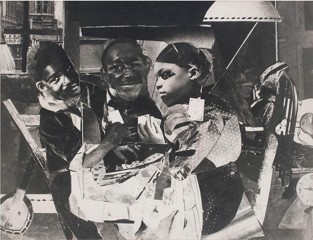 Romare Bearden, Evening 91046 Lenox Avenue-web