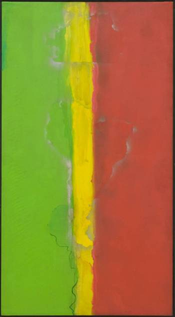Who's Afraid of Barney Newman 1968 Frank Bowling born 1936 Presented by Rachel Scott 2006 http://www.tate.org.uk/art/work/T12244