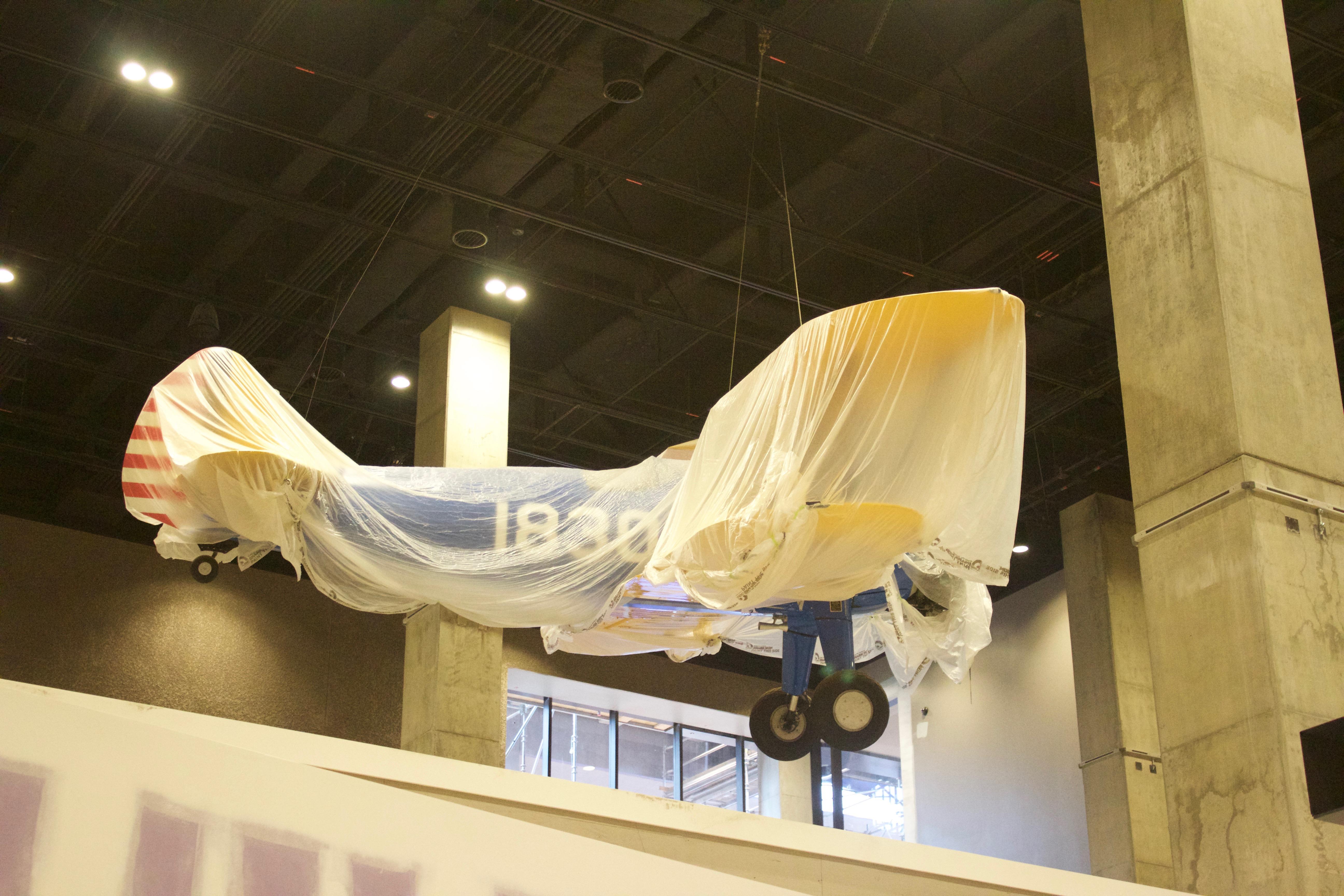 NMAAHC Tuskegee Airplane. 2