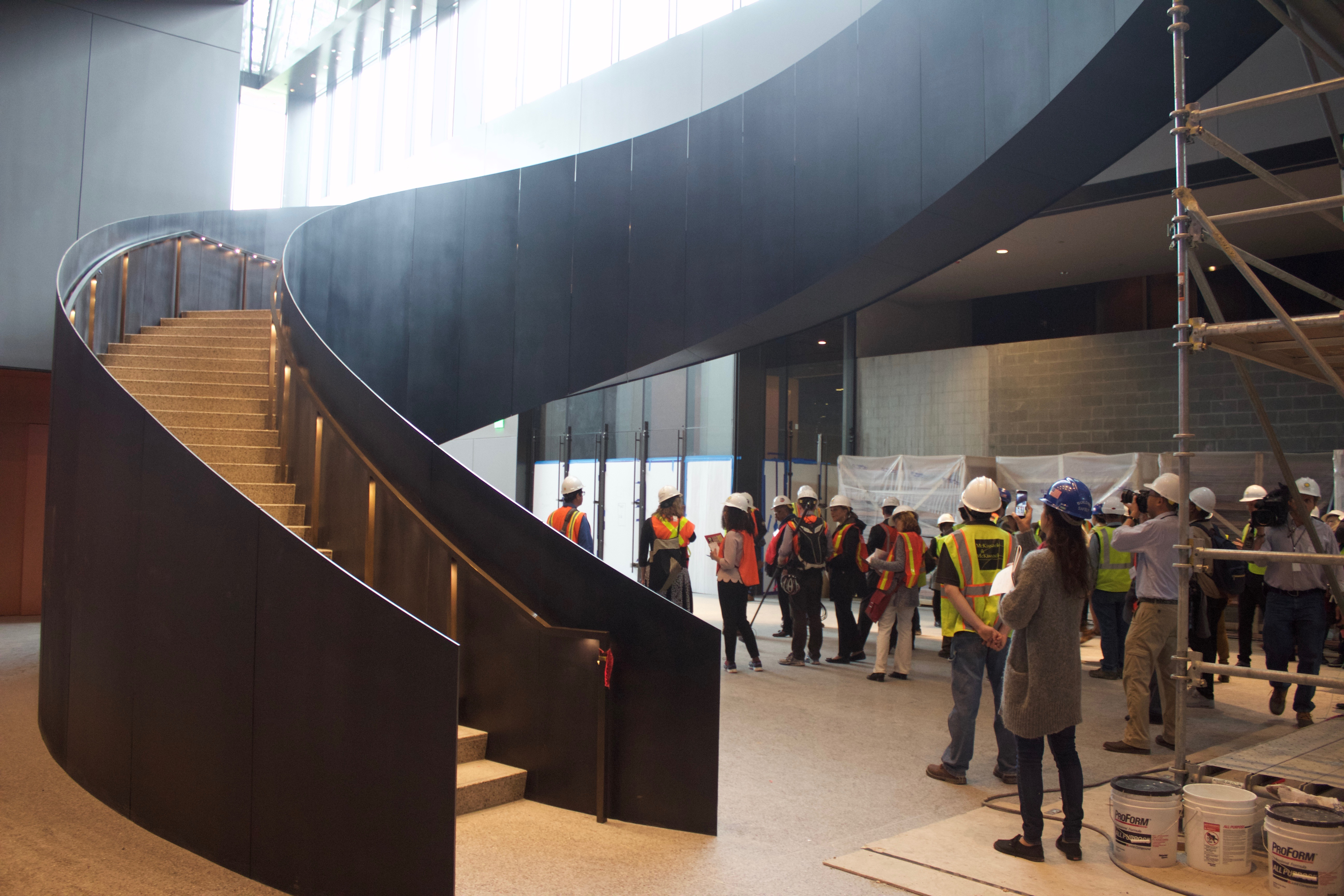 NMAAHC stairway