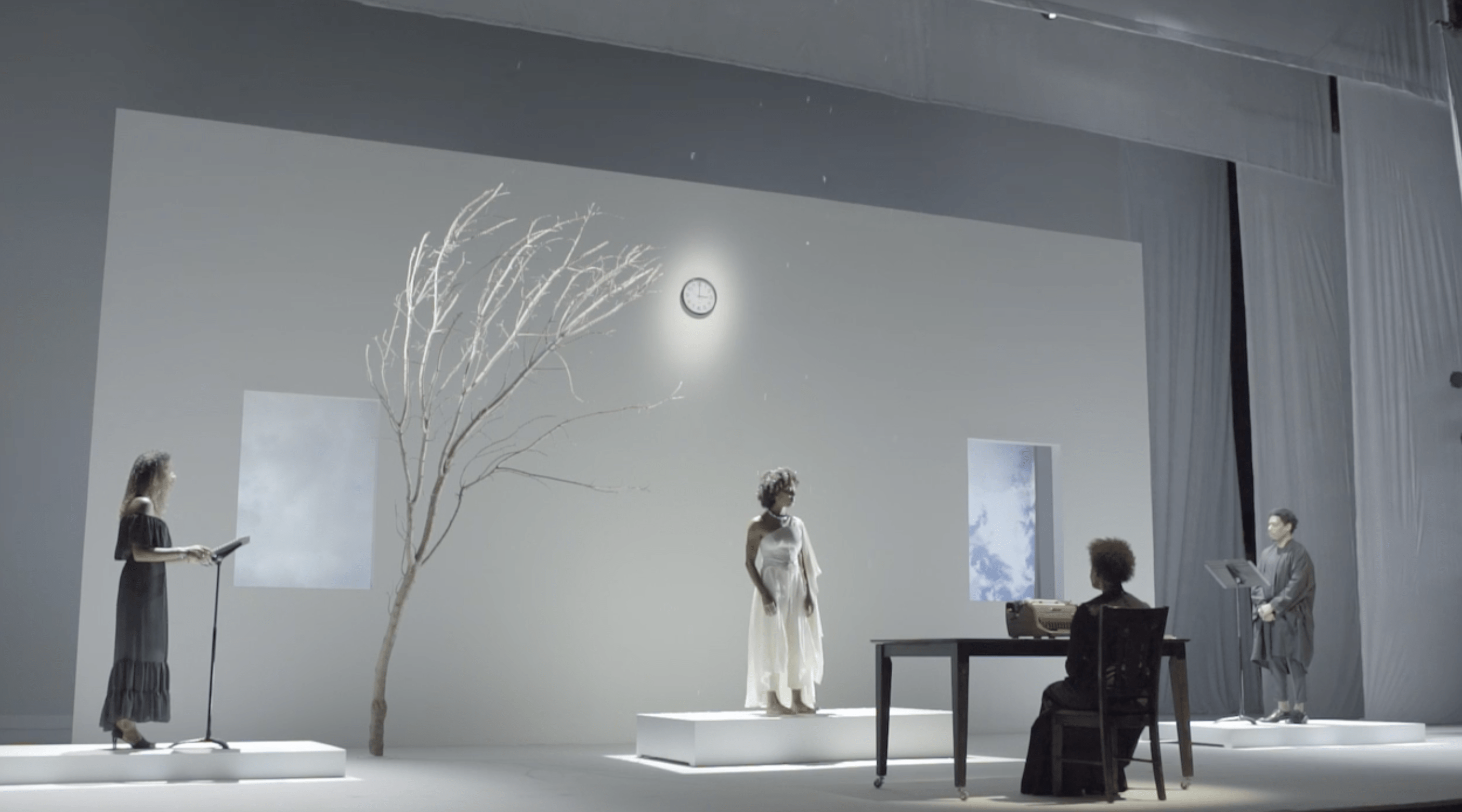 Carrie Mae Weems - Staging of Grace Notes - Reflections for Now