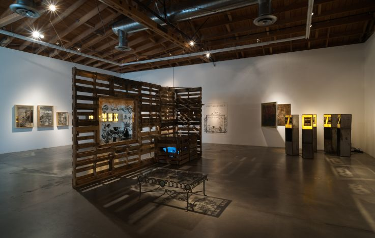 arceneaux_2014_a-book-and-a-medal-installation-view