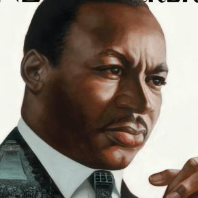 Illustrator Kadir Nelson Envisions Martin Luther King Jr., for Cover of New Yorker