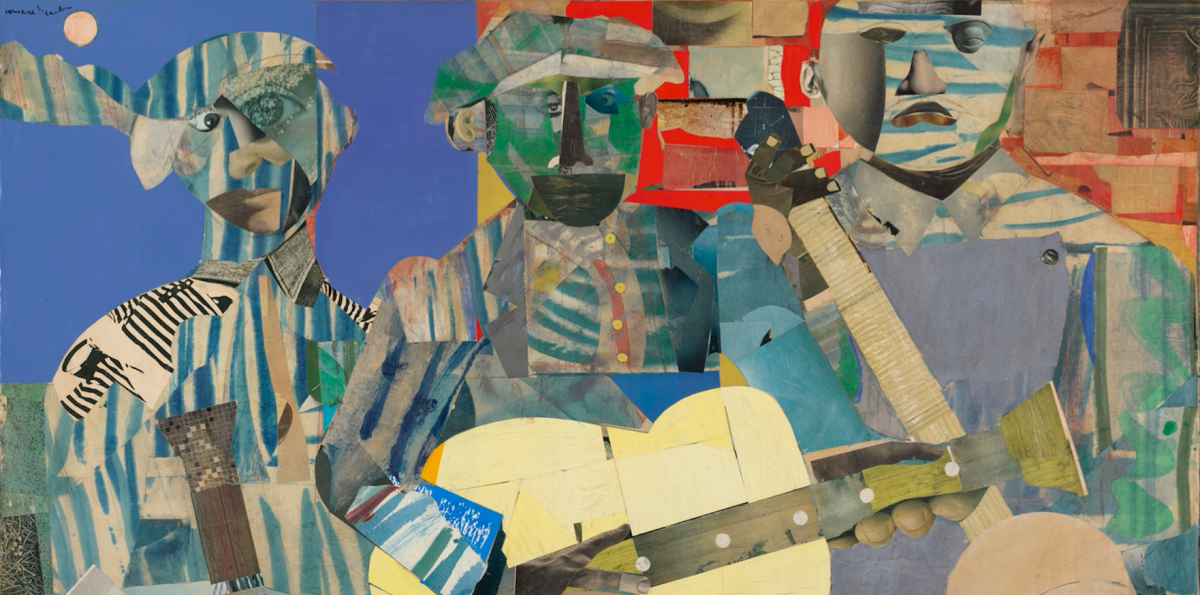 Virginia Museum Acquires 'Three Folk Musicians' by Romare Bearden, an 'Iconic' Collage Long Held in a Private Collection
