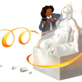Google Begins Black History Month with Doodle Dedicated to African American Sculptor Edmonia Lewis