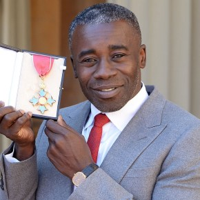 British Artist Chris Ofili Received Royal Honor at Buckingham Palace