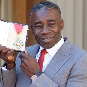 British Artist Chris Ofili Received Royal Honor at Buckingham Palace