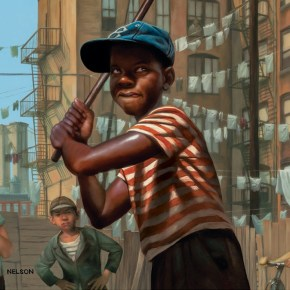Kadir Nelson Channels Nostalgic Brooklyn with Stickball Cover for The New Yorker