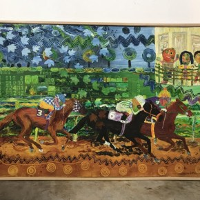 Known for His Revolutionary Black Power Images, Wadsworth Jarrell Started Painting Horse Race Scenes in the 1960s
