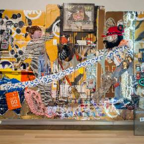 All in the Family: Aaron Fowler's Elaborate Assemblage Works are Highly Personal