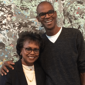 Two Decades After Anita Hill Testified Before the Senate Judiciary Committee, She Started a Conversation with Mark Bradford About His Art and Practice