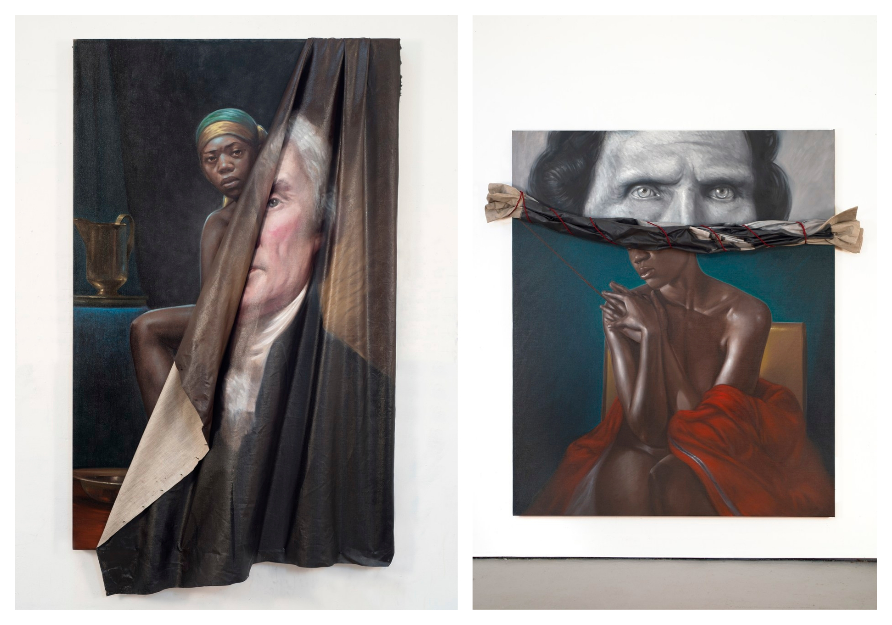 Titus Kaphar Whose Paintings Reconstruct Accepted