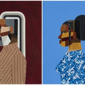 On View: 'Derrick Adams: Interior Life' at Luxembourg & Dayan, New York City