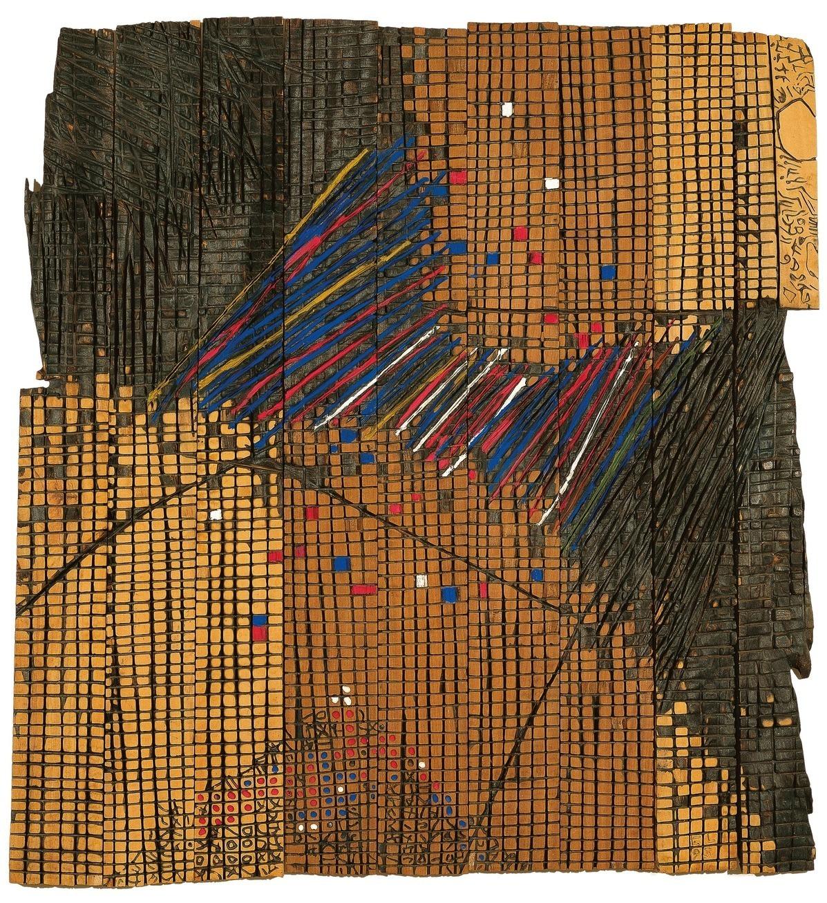 On View: 'El Anatsui: Triumphant Scale' at Haus der Kunst Museum