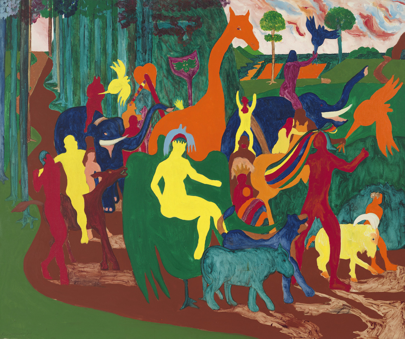 Whitney Museum's 'Spilling Over' Exhibition Celebrates Color