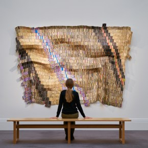 Sotheby's Modern & Contemporary African Art Sale in London Yields 11 Artist Records, El Anatsui Tapestry is Top Lot, Again