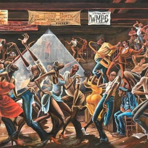 Ernie Barnes Retrospective Brings Renewed Attention to African American Artist Who Found Fame After Playing Pro Football