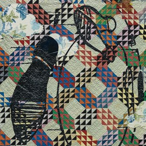 Repurposed Quilt Work by Sanford Biggers Sets an Artist Record at Phillips London