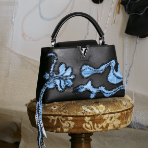 Louis Vuitton Invited 6 Artists Including Tschabalala Self and Nicholas Hlobo to Reimagine its Capucines Handbag