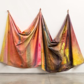 Renowned Washington Painter Sam Gilliam Has Joined Pace Gallery, For the First Time He is Represented in New York