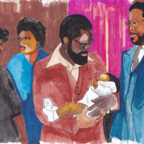Coming Soon: Derrick Adams is Presenting a Series of Family Portraits for His First Hometown Solo Show in Baltimore