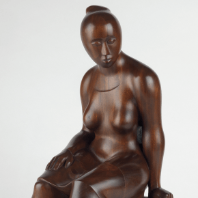 Saint Louis Art Museum Has Acquired 'Seated Woman,' Elizabeth Catlett's Record-Setting Sculpture