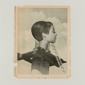 'Give Me Some Moments': Lorna Simpson's New Collages Channel the Imagined Lives and Complex Interiority of Her Subjects