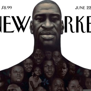 Kadir Nelson's New Yorker Cover is a Monument to George Floyd and Reminder of Long History of Violence Against Black People in America