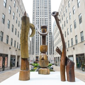 Pittsburgh Sculptor Thaddeus Mosley's Improvisational Methods and Modern Forms Channel the 'Essence of Good Jazz'