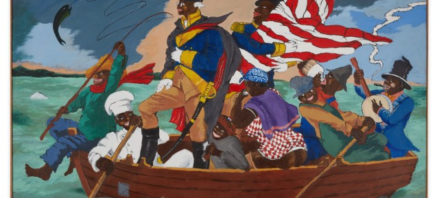 Lucas Museum Acquires Robert Colescott's 'George Washington Carver Crossing the Delaware' Painting for Record-Smashing $15.3 Million From Sotheby's Auction
