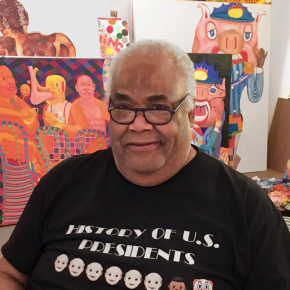 Painter Peter Williams, Who 'Was Not Afraid to Poignantly Portray the Truths of Contemporary Society,' Has Died. He Was 69