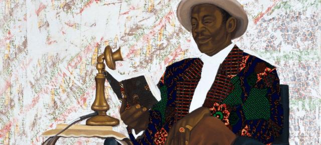 Ghanaian Artist Cornelius Annor is Now Represented in Europe by Maruani Mercier Gallery of Brussels