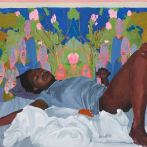 On View: 'When You Need Letters for Your Skin,' New Paintings by Kudzanai-Violet Hwami at Victoria Miro in London