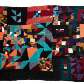 4 Quilts by Late Northern California Artist Rosie Lee Tompkins Enter Auction Market, Receive Enthusiastic Response