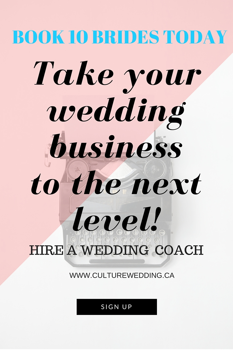 HIRE A WEDDING PLANNING COACH TODAY