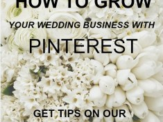 Grow your wedding business with Pinterest