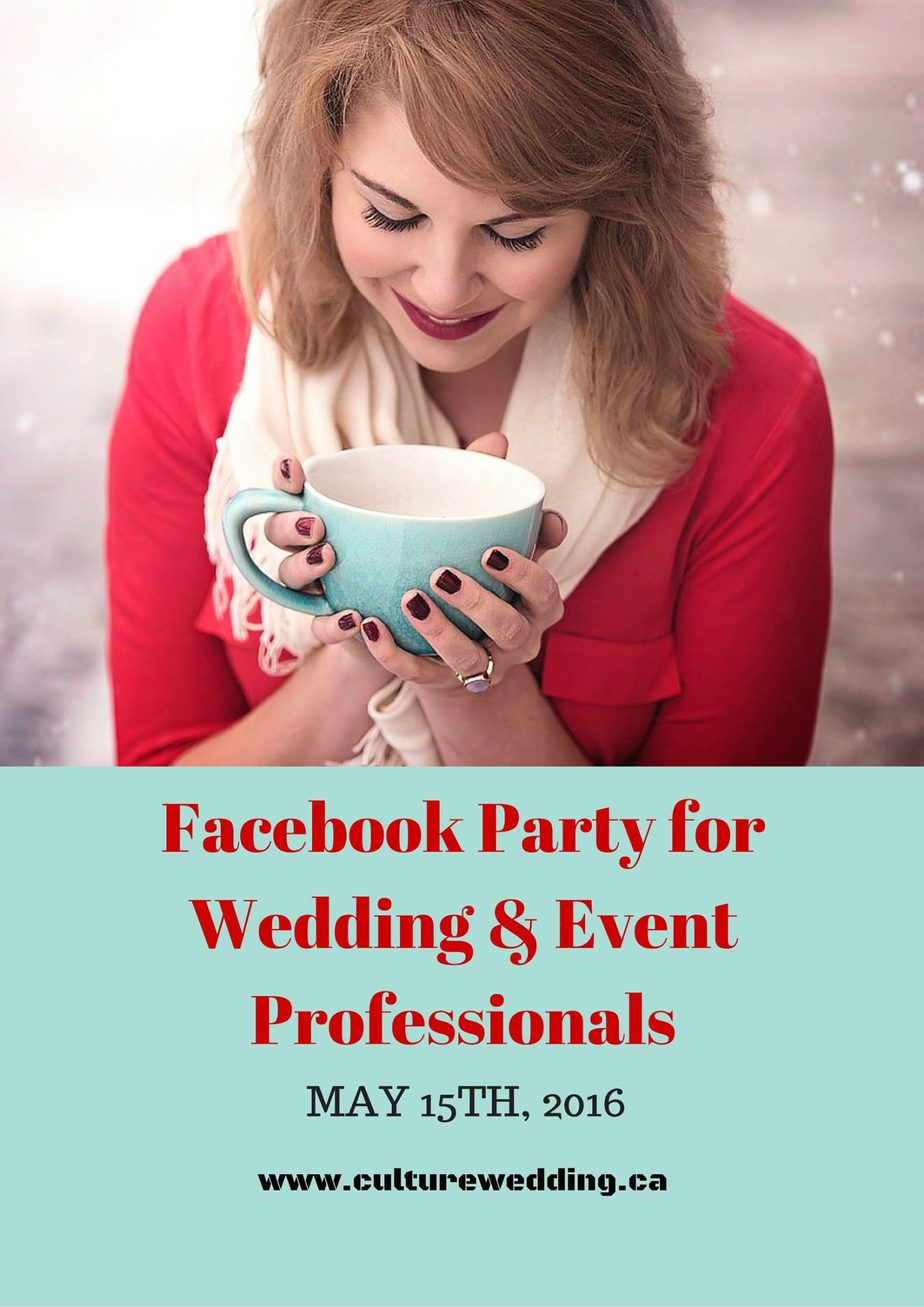Facebook Party for Wedding and Event Professionals