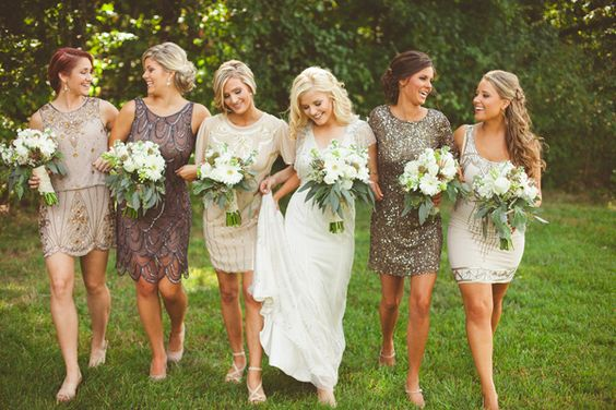 Mix and Match Bridesmaids Styles that are here to Stay