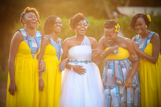 5 African Traditional Bridesmaids Dresses That Nailed It