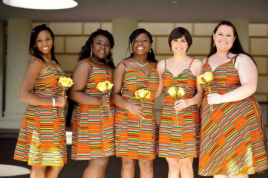 bridesmaides dress use africa