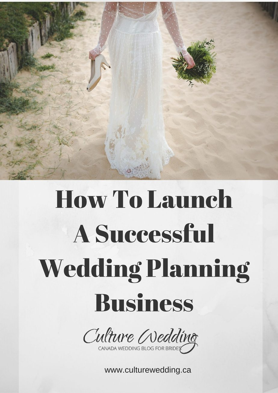 how to launch a successful wedding planning business
