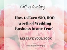 How to Earn $50, 000 worth of Wedding Business In one YeaR