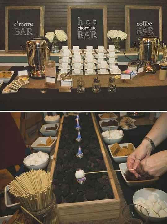 Coffee Station Wedding