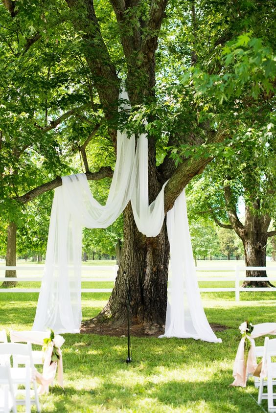 10 of the best outdoor wedding ideas from pinterest culture simple outdoor wedding decor ideas junglespirit Image collections