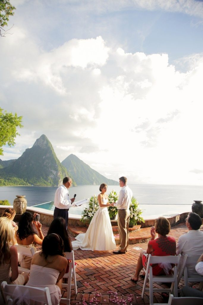st-lucia wedding from gideon photography
