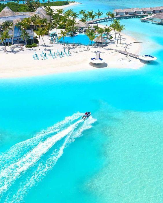 Maldives honeymoon location